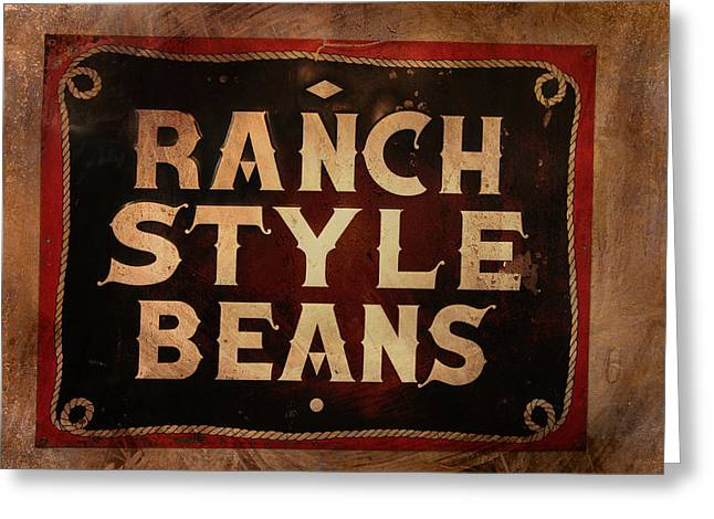 Ranch Style Beans Greeting Card