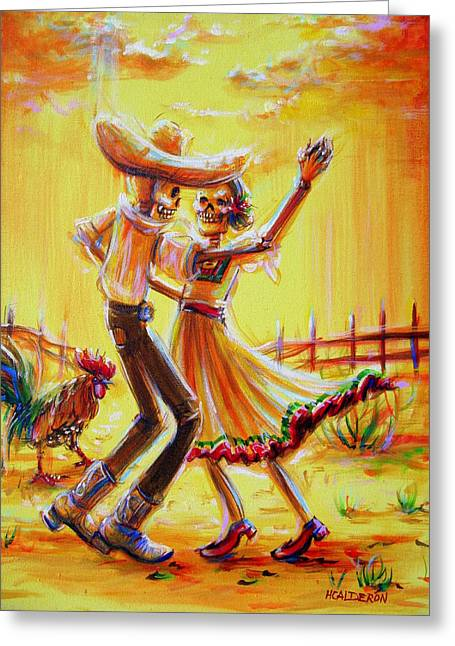 Ranchera Greeting Card
