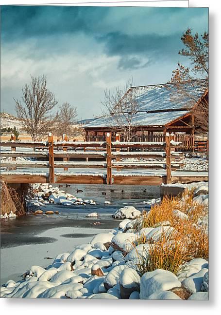 Rancho San Rafael Pavilion Greeting Card