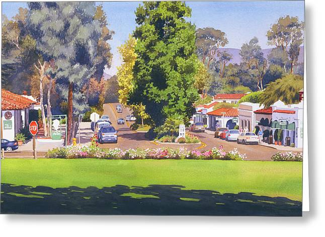 Rancho Santa Fe California Greeting Card