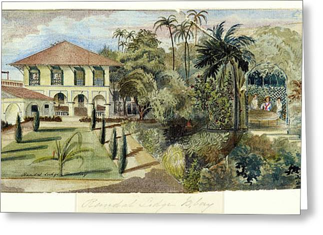 Randall Lodge Complex In Bombay Greeting Card