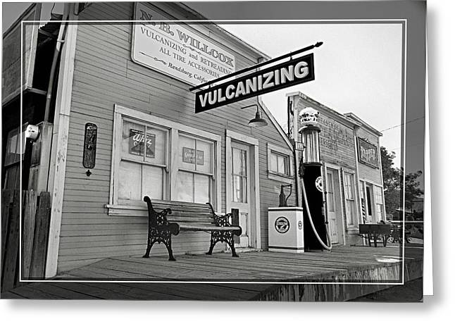 Randsburg 13 Greeting Card by Cindy Nunn