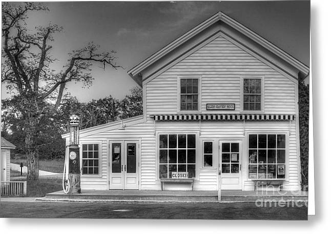 Ranger Station In Glen Haven Greeting Card