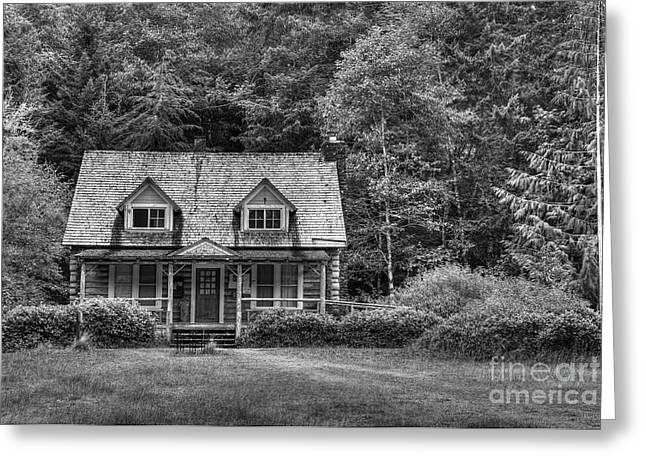 Ranger Station In Olympic National Park Greeting Card