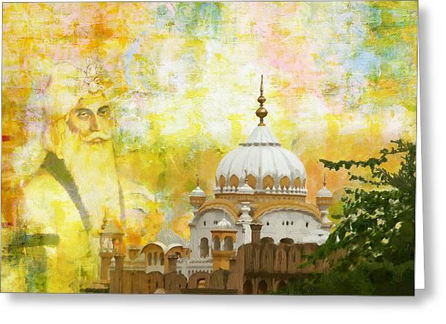 Ranjit Singh's Samadhi Greeting Card by Catf