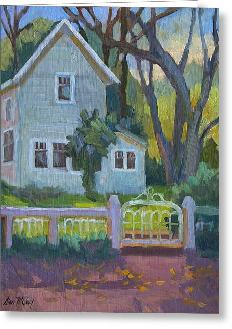 Rankin Ranch Homestead Greeting Card by Diane McClary