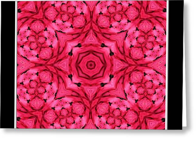 Greeting Card featuring the photograph Ranunculus Flower Warp by Rose Santuci-Sofranko