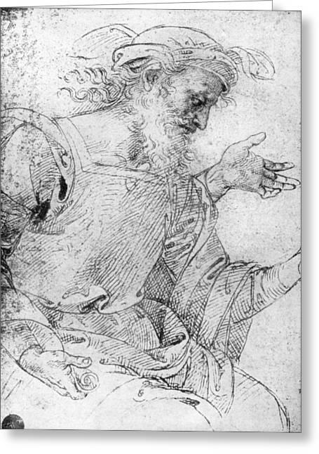 Raphael Ezekiel Greeting Card