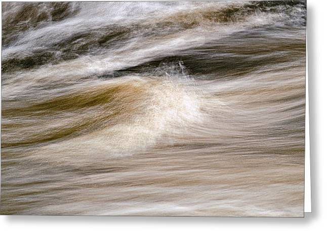 Greeting Card featuring the photograph Rapids by Marty Saccone