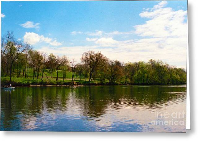 Rappahannock River I Greeting Card by Anita Lewis