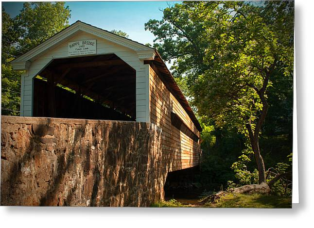 Rapps Covered Bridge Greeting Card