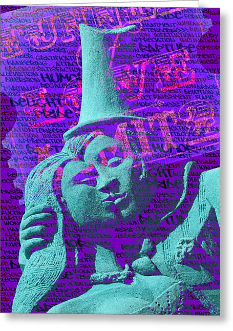 Greeting Card featuring the digital art Rapture by Richard Farrington