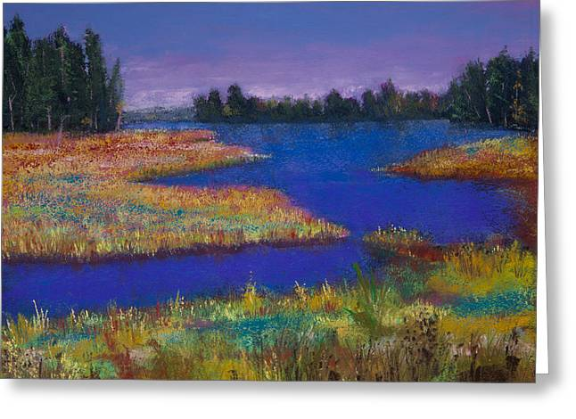 Raquette Lake Greeting Card by David Patterson