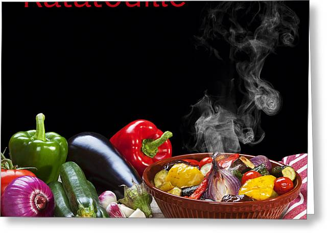 Ratatouille Concept Greeting Card by Colin and Linda McKie