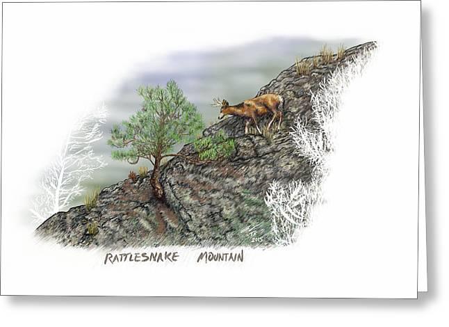 Rattlesnake Mountain Greeting Card