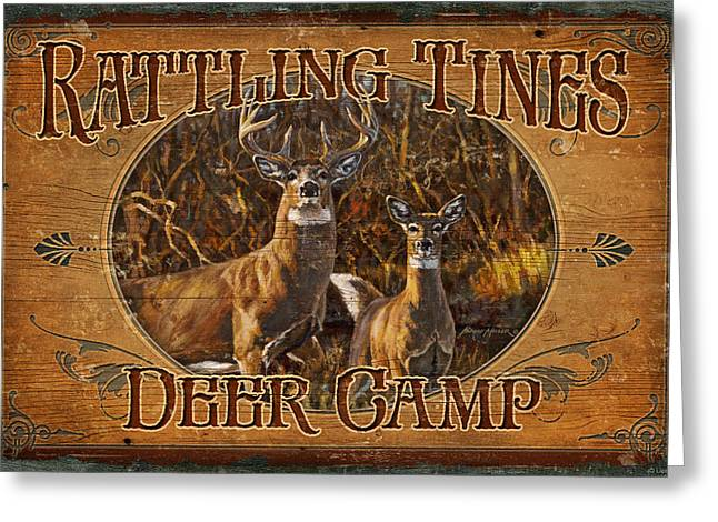 Rattling Tines Greeting Card