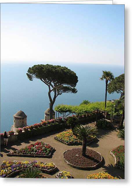 Greeting Card featuring the photograph Ravello by Carla Parris
