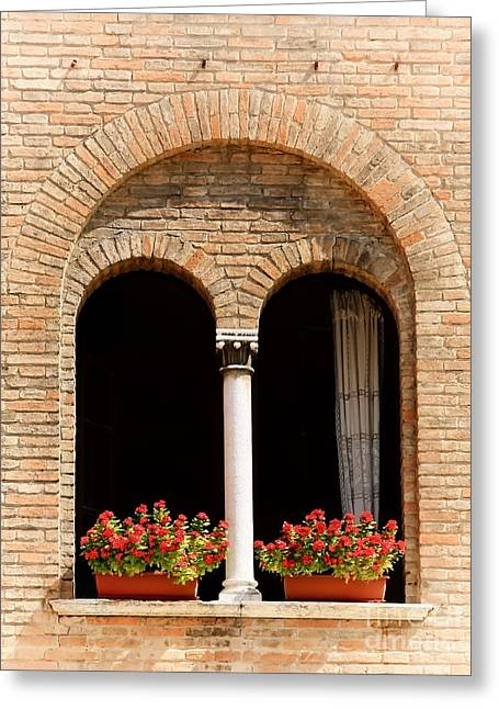 Ravenna Window Greeting Card