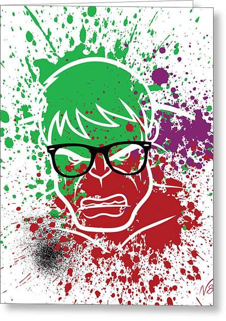 Ray-ban Hulkster Greeting Card