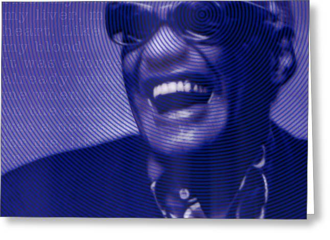 Ray Charles Robinson And Quote Greeting Card
