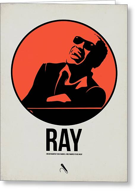 Ray Poster 1 Greeting Card by Naxart Studio
