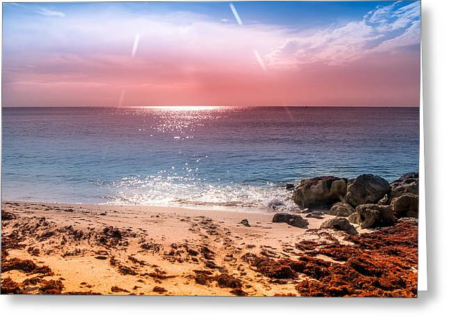 Rays Of Light Greeting Card by Louis Ferreira