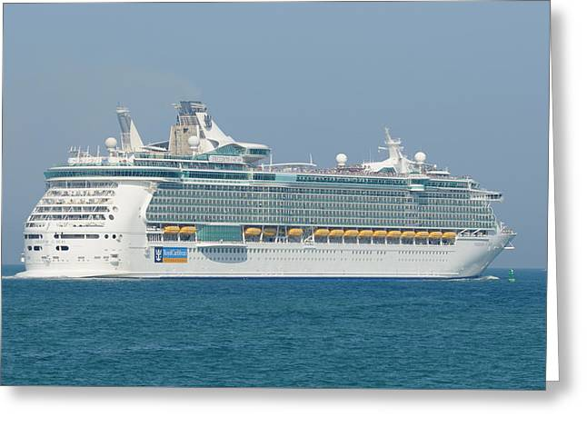 Rci Freedom Of The Seas Greeting Card