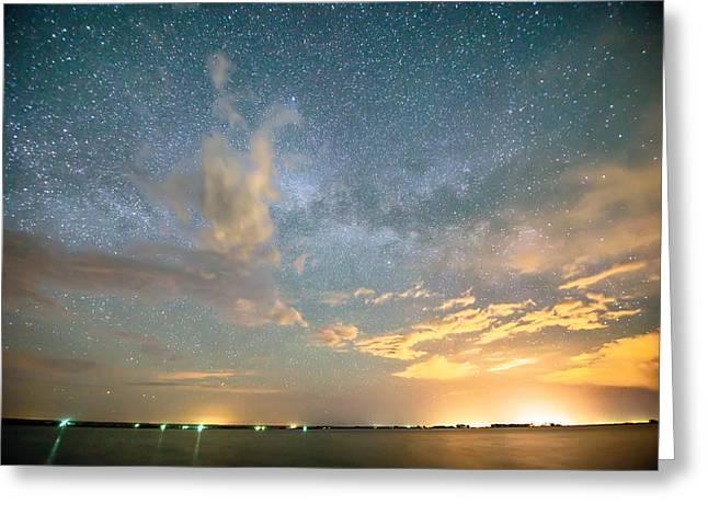 Reach Upon The Stars Greeting Card