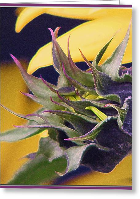 Reaching Greeting Card by Chris Anderson