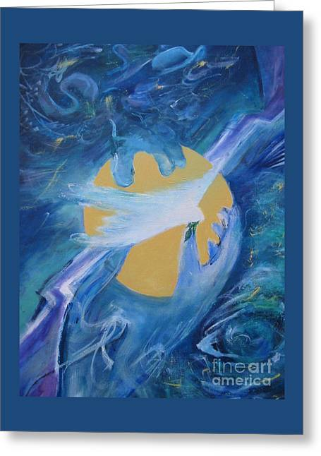 Reaching For Peace Greeting Card