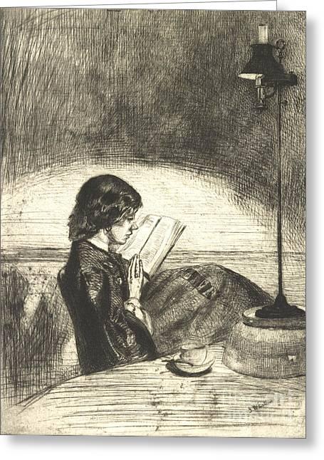 Reading 1859 Greeting Card