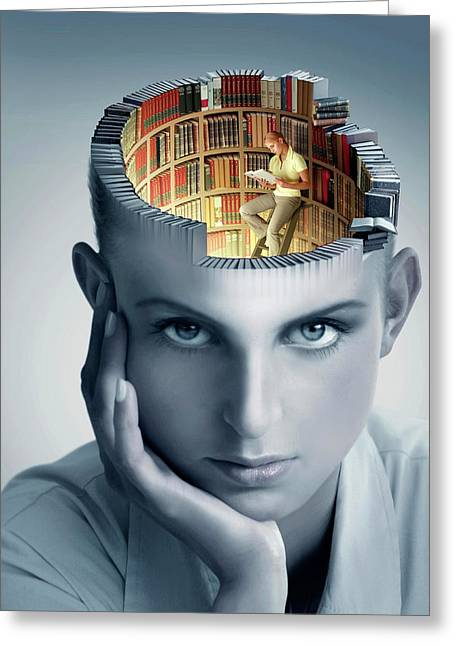 Reading And Memory Greeting Card
