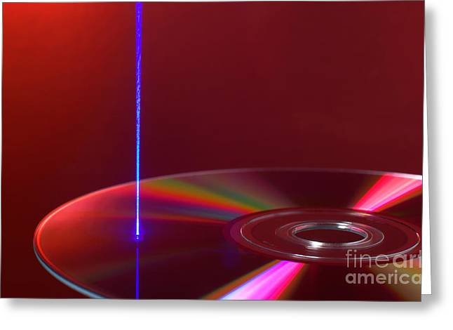 Reading Dvd Greeting Card by GIPhotoStock