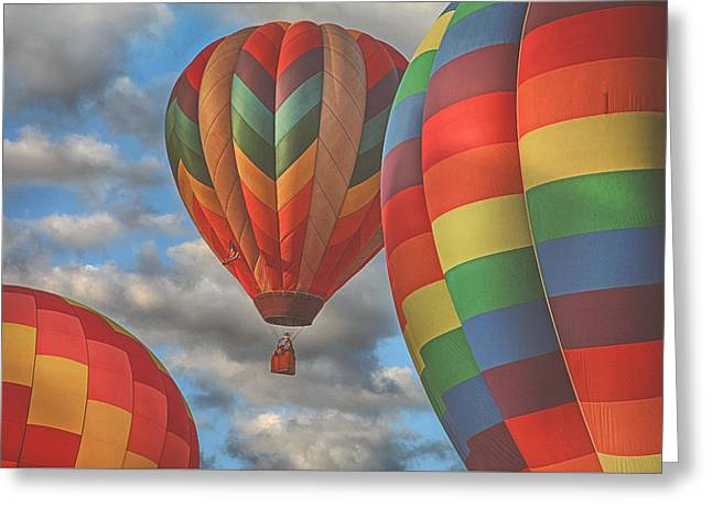 Readington Balloon Fest Media Launch 13 Greeting Card