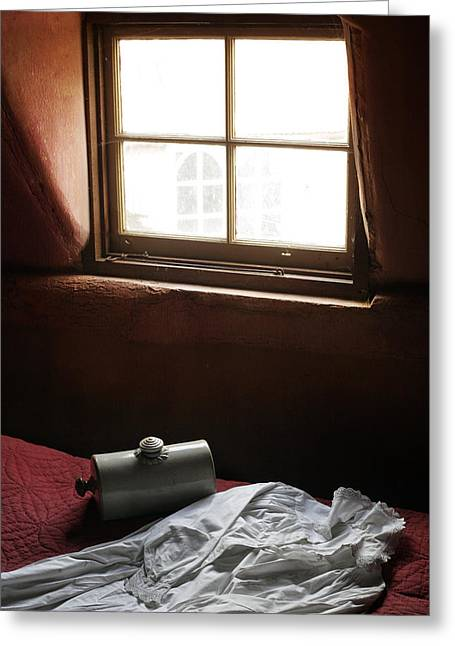Ready For Bed Greeting Card by Stephen Norris