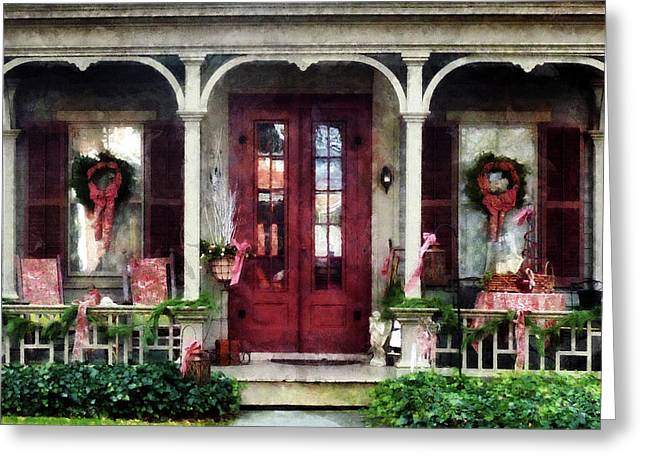Ready For Christmas Greeting Card by Susan Savad
