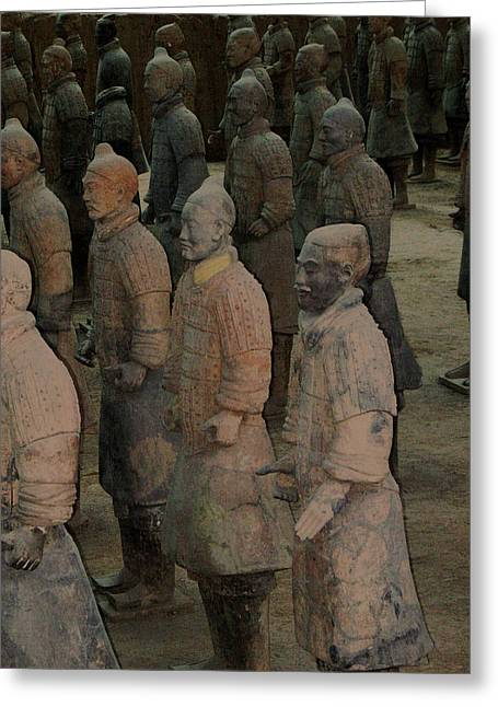 Ready For Duty In China Greeting Card