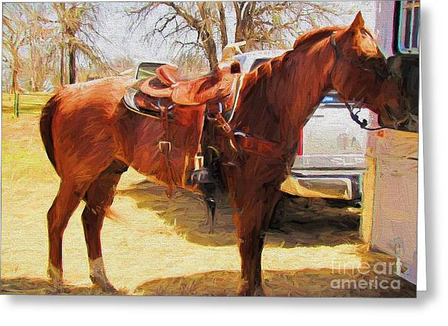 Ready For Some Ropin Greeting Card