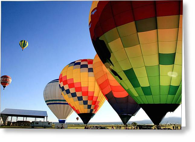 Ready For Take-off Greeting Card by Becky Maness