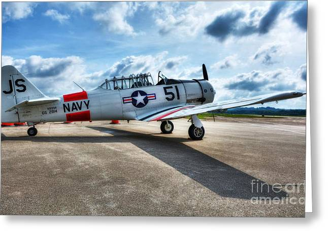 Ready For Takeoff 2 Greeting Card by Mel Steinhauer