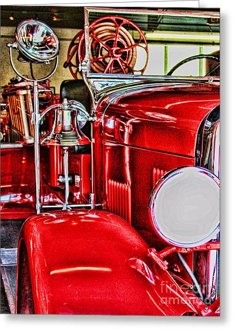 Ready For The Ring By Diana Sainz Greeting Card