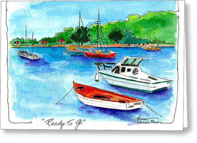 Ready To Go Greeting Card