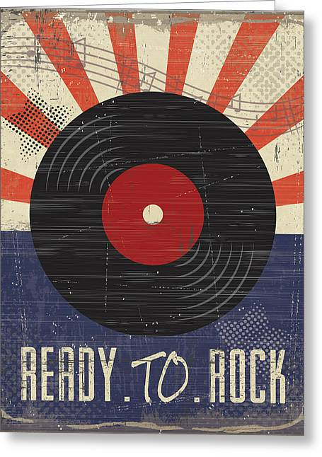 Ready To Rock Greeting Card