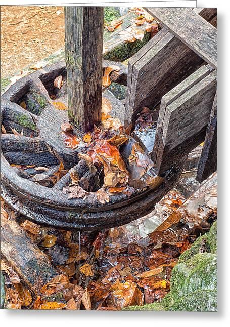 Reagan Mill Tub Wheel Greeting Card