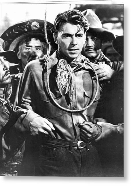Reagan Western Film Still Greeting Card