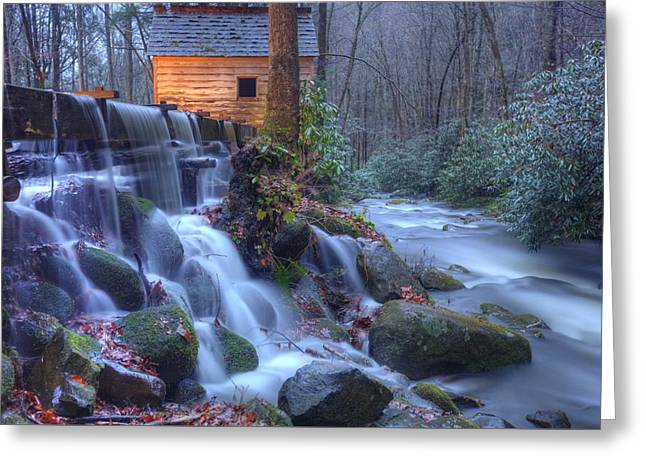 Reagan's Mill Greeting Card by Doug McPherson