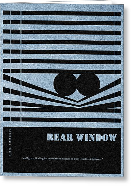 Rear Window Greeting Card by Ayse Deniz