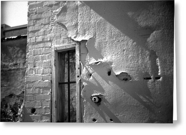 Rear Window Greeting Card by Paul Anderson