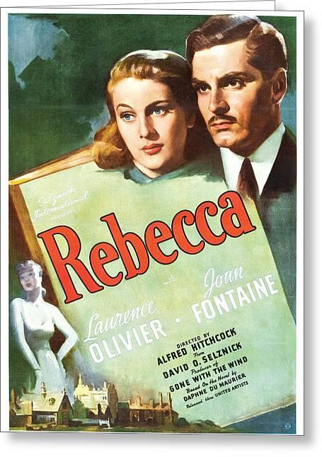 Rebecca - 1940 Greeting Card by Georgia Fowler