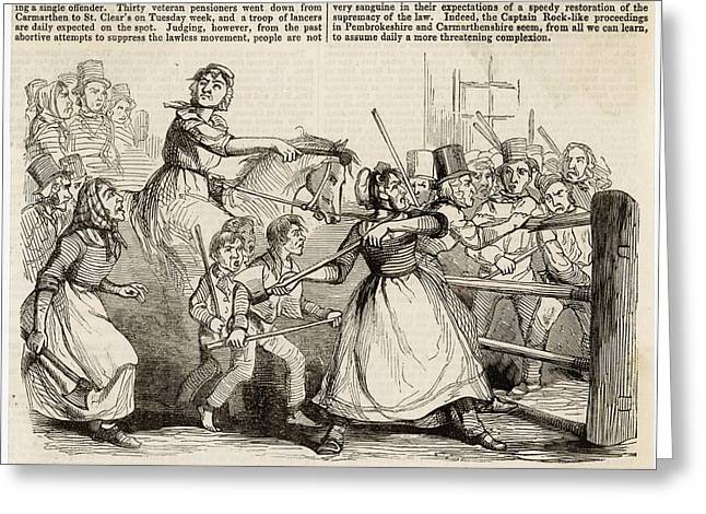 rebecca riots Rebecca riots: rebecca riots, disturbances that occurred briefly in 1839 and with greater violence from 1842 to 1844 in southwestern wales the rioting was in protest against charges at the tollgates.